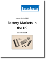 Battery Markets in the US - Demand and Sales Forecasts, Market Share, Market Size, Market Leaders