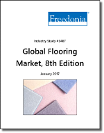 Global Flooring Market by Product, Market and Region, 8th edition - The Freedonia Group - Industry Market Research