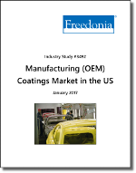 Manufacturing (OEM) Coatings Market in the US - Demand and Sales Forecasts, Market Share, Market Size, Market Leaders