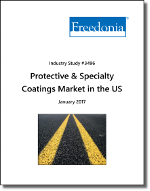 Protective & Specialty Coatings Market in the US by Market, Formulation and Substrate - The Freedonia Group - Industry Market Research