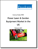 Power Lawn & Garden Equipment Market in the US by Product, Power Source, Market and Region, 12th Edition - The Freedonia Group - Industry Market Research