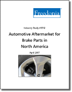 Automotive Aftermarket for Brake Parts in North America by Product and Performer - The Freedonia Group - Industry Market Research