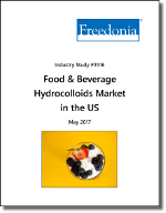 Food & Beverage Hydrocolloids Market in the US - Demand and Sales Forecasts, Market Share, Market Size, Market Leaders