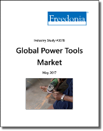 Global Power Tools Market by Region, Product and Market, 9th Edition - The Freedonia Group - Industry Market Research