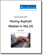 Paving Asphalt in the US by Product, Application and Region - The Freedonia Group - Industry Market Research