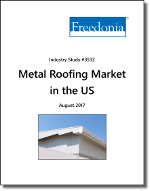 Metal Roofing in the US by Product, Market and Subregion - The Freedonia Group - Industry Market Research