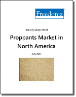 Proppants in North America - Demand and Sales Forecasts, Market Share, Market Size, Market Leaders