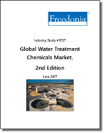 Global Water Treatment Chemicals by Type, Market and Region, 2nd Edition  - The Freedonia Group - Industry Market Research