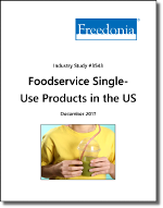 Foodservice Single-Use Products in the US by Product and Market - The Freedonia Group - Industry Market Research