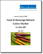 Food & Beverage Natural Colors Market in the US by Color - The Freedonia Group - Industry Market Research