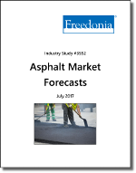 Asphalt Forecasts by Product, Market and Region - The Freedonia Group - Industry Market Research