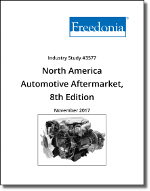 North America Automotive Aftermarket by Product & Performer, 8th Edition - The Freedonia Group - Industry Market Research