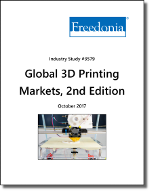 Global 3D Printing by Country, Product and Market, 2nd Edition - The Freedonia Group - Industry Market Research