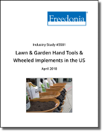 Lawn and Garden Hand Tools and Wheeled Implements in the US by Product at Manufacturer and Retail Level - The Freedonia Group - Industry Market Research