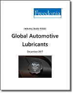 Global Automotive Lubricants by Market, Product and Formulation - The Freedonia Group - Industry Market Research