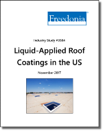 Liquid-Applied Roof Coatings in the US by Product and Subregion - The Freedonia Group - Industry Market Research