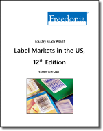 Labels in the US by Application Method, Stock Material, Market and Printing Technology - The Freedonia Group - Industry Market Research