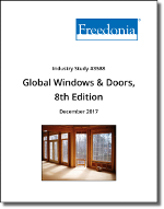 Global Windows & Doors by Product, Material, Market and Region, 8th Edition - The Freedonia Group - Industry Market Research