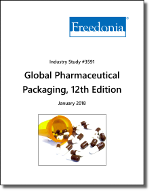 Global Pharmaceutical Packaging by Product and Region, 12th Edition - The Freedonia Group - Industry Market Research