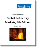 Global Refractories by Region, Market, Form and Material, 4th Edition - The Freedonia Group - Industry Market Research