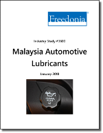 Automotive Lubricants Market in Malaysia by Market, Product and Formulation - The Freedonia Group - Industry Market Research