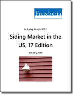 Siding in the US by Material, Market and Region, 17th Edition - The Freedonia Group - Industry Market Research