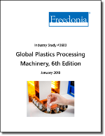 Global Plastics Processing Machinery by Product and Market, 6th Edition - The Freedonia Group - Industry Market Research