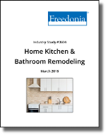 Home Kitchen and Bathroom Remodeling in the US by Product and Room - The Freedonia Group - Industry Market Research