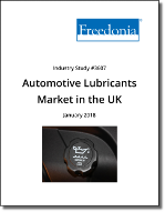Automotive Lubricants Market in the UK by Market, Product and Formulation - The Freedonia Group - Industry Market Research