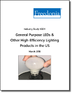 General Purpose LEDs and Other High-Efficiency Lighting in the US by Product, Market and Region, 5th Edition - The Freedonia Group - Industry Market Research