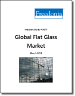 Global Flat Glass by Market, 13th Edition - The Freedonia Group - Industry Market Research