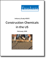 Construction Chemicals in the US by Product and Market, 7th Edition - The Freedonia Group - Industry Market Research