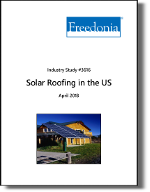 Solar Roofing in the US by Application and Region - The Freedonia Group - Industry Market Research
