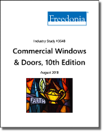Commercial Windows & Doors - Demand and Sales Forecasts, Market Share, Market Size, Market Leaders