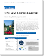 Power Lawn & Garden Equipment - The Freedonia Group - Industry Market Research
