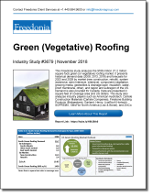 Green (Vegetative) Roofing - Demand and Sales Forecasts, Market Share, Market Size, Market Leaders