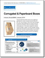 Corrugated & Paperboard Boxes  - The Freedonia Group - Industry Market Research