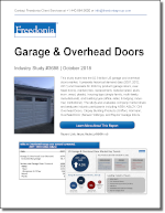 Garage & Overhead Doors - Demand and Sales Forecasts, Market Share, Market Size, Market Leaders