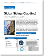 Global Siding (Cladding) - The Freedonia Group - Industry Market Research