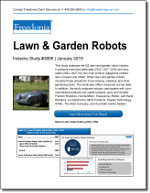 Lawn and Garden Robots - The Freedonia Group - Industry Market Research