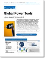 Global Power Tools - Demand and Sales Forecasts, Market Share, Market Size, Market Leaders