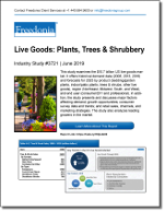 Live Goods: Plants, Trees & Shrubbery - Demand and Sales Forecasts, Market Share, Market Size, Market Leaders