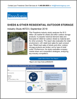 Sheds & Outdoor Storage - Demand and Sales Forecasts, Market Share, Market Size, Market Leaders