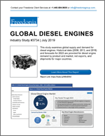 Global Diesel Engines - Demand and Sales Forecasts, Market Share, Market Size, Market Leaders