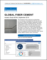 Global Fiber Cement - The Freedonia Group - Industry Market Research