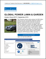 Global Power Lawn & Garden Equipment - The Freedonia Group - Industry Market Research