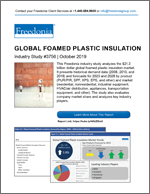 Global Foamed Plastic Insulation - The Freedonia Group - Industry Market Research