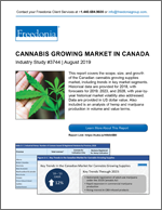 Cannabis Growing in Canada - Demand and Sales Forecasts, Market Share, Market Size, Market Leaders