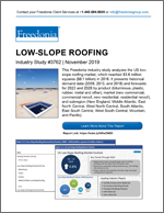 Low-Slope Roofing - Demand and Sales Forecasts, Market Share, Market Size, Market Leaders