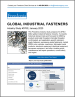 Global Industrial Fasteners - Demand and Sales Forecasts, Market Share, Market Size, Market Leaders